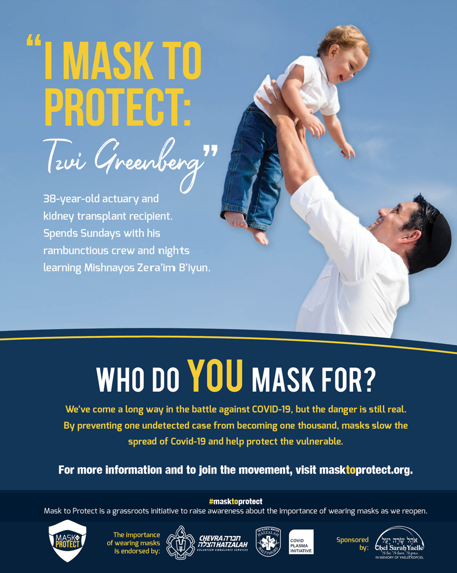 Mask to protect ad